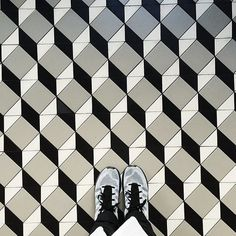 """Photographer Takes """"Selfeets"""" On The Most Amazing Floors   http://www.demilked.com/feet-photography-i-have-this-thing-with-floors/"""