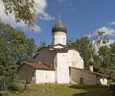 Церковь Успения в с. Мелетово близ Пскова. 1461-62 гг.