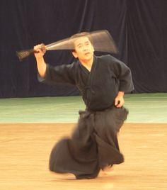 Kyoso Sensei doing Tenshin Shoden Katori Shinto Ryu iaijutsu