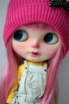 Custom Blythe Doll Tweety Pie por chercheto en Etsy