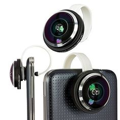 Mccool 235° Super Fish Eye Clip-on 235 Degree Detachable fisheye Lens Kit For for Apple iPhone 6 Plus 5S 5C 4S iPad Mini 1 2 Air Samsung Galaxy S5 S4 Note 4 HTC Smart Cellphone - http://our-shopping-store.com