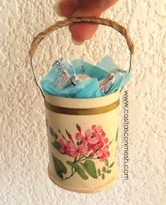 Gift Basket TUTORIAL Toilet Paper Roll TP Tube gift for Mom: