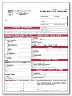 Witko Roofing Forms, Printing, Checks, Labels and Office Supplies