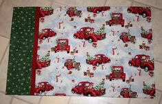 Christmas Pillow Case that can be by SweetNothingsStitch on Etsy