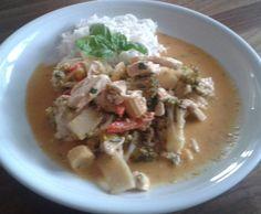 Rezept Rotes Thai-Curry (nach einem Chefkoch-Rezept) von Queen-of-Castle - Rezept der Kategorie Hauptgerichte mit Fleisch