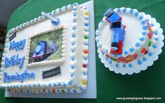 Growing in Grace: Thomas the Tank Birthday Cake