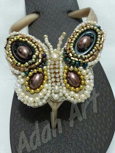 Chinelo borboleta