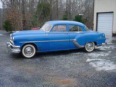 1954 Pontiac Chieftain 4 DOOR SEDAN DELUXE. Straight 8 flathead, smooth and fast.