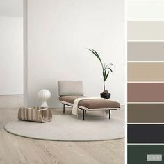 Цвета интерьера Home Trends 2018 color trends home House Color Palettes, Paint Color Palettes, House Color Schemes, Bedroom Color Schemes, Colour Pallete, Bedroom Colors, Colour Schemes, House Colors, Color Trends