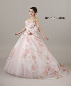 ADELAIDE Wedding Dress Patterns, Colored Wedding Dresses, Wedding Bridesmaid Dresses, Wedding Gowns, Prom Gowns, Ball Gowns, Elegant Dresses, Beautiful Dresses, Princess Aesthetic