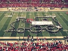 Because they can make a choo-choo train actually CHOO-CHOO: | This Is Why Ohio State University's Marching Band Is Actually The Best Damn Band In The Land