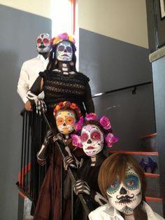 Dia de Los Muertos Family and Kids