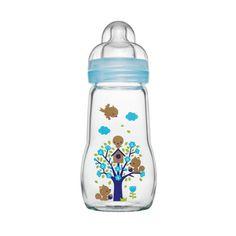 MAM Glazen fles 260ml Feel Good voor jongens 2+ Maanden pinkorblue.nl ♥ Ruim 40.000 producten online ♥ Nu eenvoudig online shoppen!