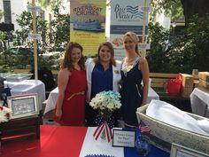 Savannah Riverboat Cruises' Group Sales Reps - Megan Mazzoccone & Bailee Bridwell and Lisa Shea - Marketing.