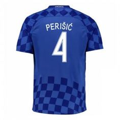 2016 Croatia Soccer Team Perisic 4 Away Replica Jersey 2016 Croatia Soccer  Team Perisic 4 Away Soccer jerseys 695013554