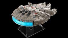 Esta es una de las piezas que los fanáticos de la saga de Star Wars querrán conseguir a toda costa. Se trata de parlante Bluetooth con forma de Halcón Milenario, comercializado por la empresa iHome.