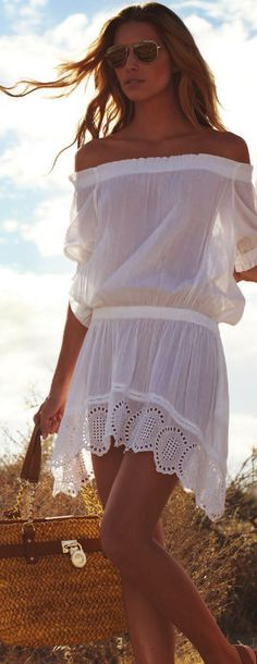 38 Abdorable White Summer Dresses 2015