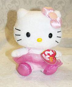 Hello Kitty ty Beanie Ballerina with Pink Tutu