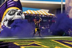 East Carolina football fans are rabidly energetic and fiercely loyal, and they don't back down. Ask them why, and you'll find out that their team, their town, and their school all have something to prove. Ecu Pirates Football, Fall Football, Football Is Life, College Football, Football Team, East Carolina Football, East Carolina University, North Carolina Homes, University Dorms