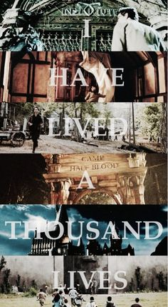 Mortal Instruments, Narnia, I'm not sure, Percy Jackson, Harry Potter, The Maze Runner. I'm not sure if those are all right, but correct me if I'm wrong!
