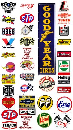 Racing Stickers, Car Stickers, Car Decals, Ho Slot Cars, Slot Car Racing, Auto Racing, Model Cars Building, Car Signs, Vintage Metal Signs