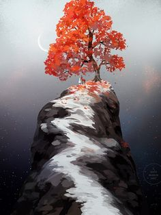 Red Trees Painting - Ideas on Foter