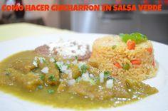 CHUCHEMAN Recetas mexicanas como hacer chicharron en salsa verde