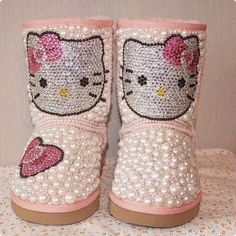 Hello Kitty custom Uggs