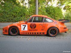 Porsche 911 slant nose. Deer blood and slant noses: match made in petrol heaven.