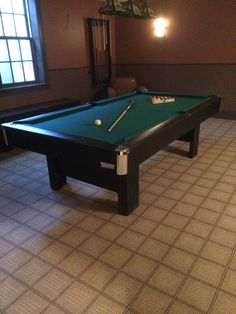 Brunswick Billiards Black Contender Sold