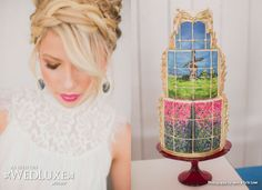 Talking with Lynzie Kent about style shoots at Berkeley Fieldhouse and her amazing design abilities. Wedding Cakes, Photoshoot, Events, Entertaining, Magazine, Desserts, Hair, Design, Style