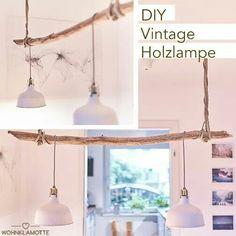do it yourself astlampe textilkabel ast und wald. Black Bedroom Furniture Sets. Home Design Ideas