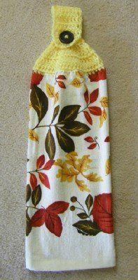 Towel Topper Crochet Pattern » Modern Crochet Patterns