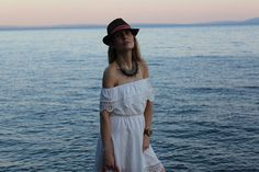 Trench Collection by Sonia Verardo: Rosegal off the shoulders white summer dress