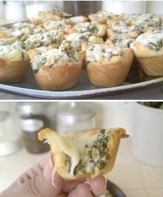 Everything Recipes: Spinach Artichoke Bites