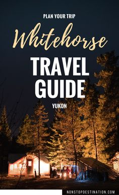 Whitehorse is the capital of the Yukon, a province in Canada's North West. The Yukon is known for its unspoilt nature and the Klondike Gold Rush and the way it… Ontario, Places To Travel, Travel Destinations, Vancouver, Alaska, Backpacking Canada, Vietnam, Canadian Travel, Canadian Rockies