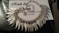 Check out this item in my Etsy shop https://www.etsy.com/listing/211378105/silver-plated-angel-wing-chain-bracelet