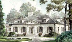 Regents Rowe - Hoyte Johnson, AIA | Southern Living House Plans