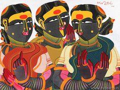 Art is one of the best Indian Artist THOTA VAIKUNTAM