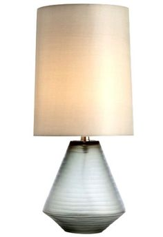 Oliver Gray Etched Glass Table Lamp by Arteriors Home