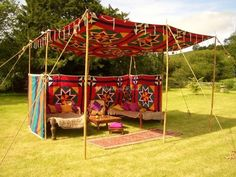 Cariad Canvas is a family owned and operated company that are proud to provide top service both locally and nationally. This company specialises in an unbelievable amount of different kinds of tents that function as gorgeous spaces for receptions and<br> Tent Camping, Glamping, Moroccan Tent, Moroccan Party, Les Gobelins, Marquee Hire, Gypsy Decor, Bell Tent, Tent Wedding