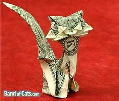 This site is dedicated to origami diagram - the art of folding paper. Large catalog of origami diagram. Dollar Bill Origami, Money Origami, Origami Paper Art, Dollar Bills, Origami Boxes, Paper Crafts, Diy Crafts, Origami Dragon, Origami Butterfly