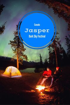 Iinspirational photos and story about the Jasper Dark Sky Festival in Canada.