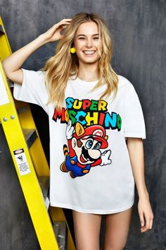 SUPERMOSCHINO: Jeremy Scott Teams Up with Nintendo for Latest ...