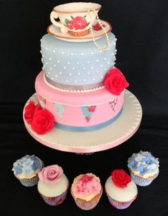 Vintage cake - by Loobyloo @ CakesDecor.com - cake decorating website