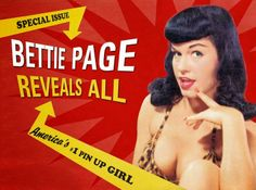 Bettie Page Revels All---movie! blog: http://www.coffinkitsch.com/2014/02/bettie-page-revels-all.html