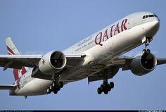 Qatar Airways A7-BAK Boeing 777-3DZ/ER aircraft picture