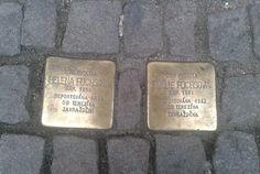Stolperstein in Prague.