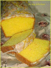 In my kitchen: Babka cytrynowa Lemon Recipes, Sweet Recipes, Baking Recipes, Cake Recipes, Dessert Recipes, Sweets Cake, Cupcake Cakes, Polish Desserts, Different Cakes
