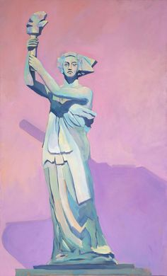 I Stand with Her – mary michaela murray Lady Justice Statue, The New Colossus, Little Cherubs, Symbols Of Freedom, French Sculptor, I See It, Stand By Me, First Nations, Oil On Canvas